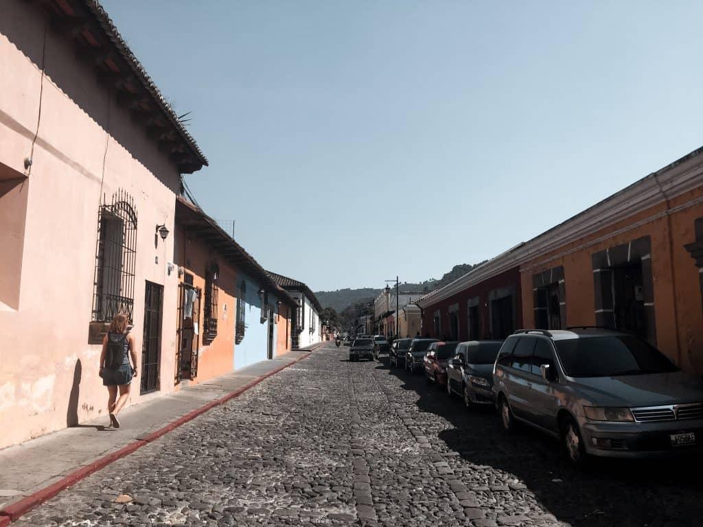 straten van Antigua, Guatemala
