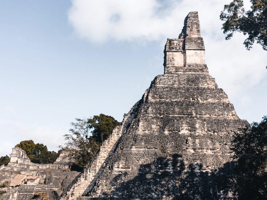 piramides van Tikal, Guatemala