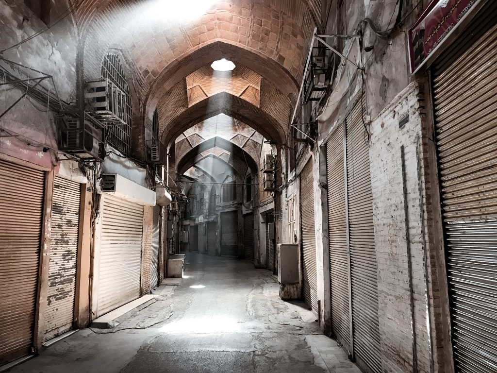 rondreis Iran, Bazaar Isfahan