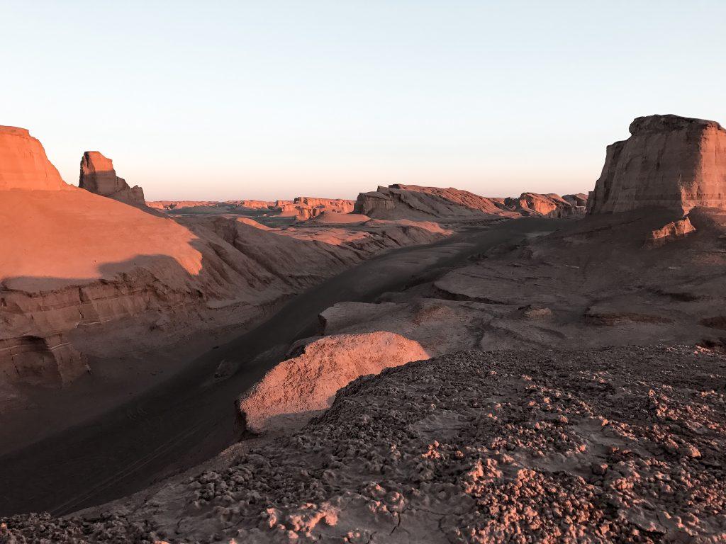 Kaluts in Lut woestijn