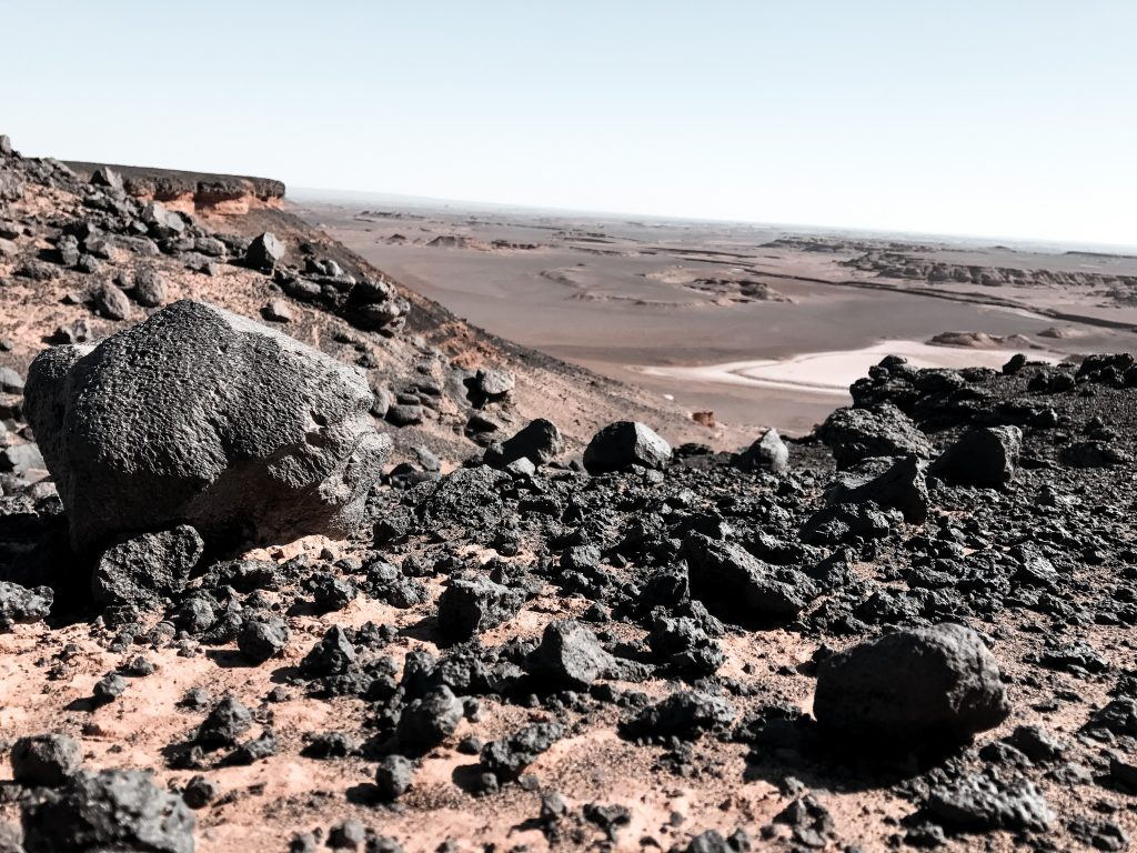 Lava plateau, Lut woestijn, Iran