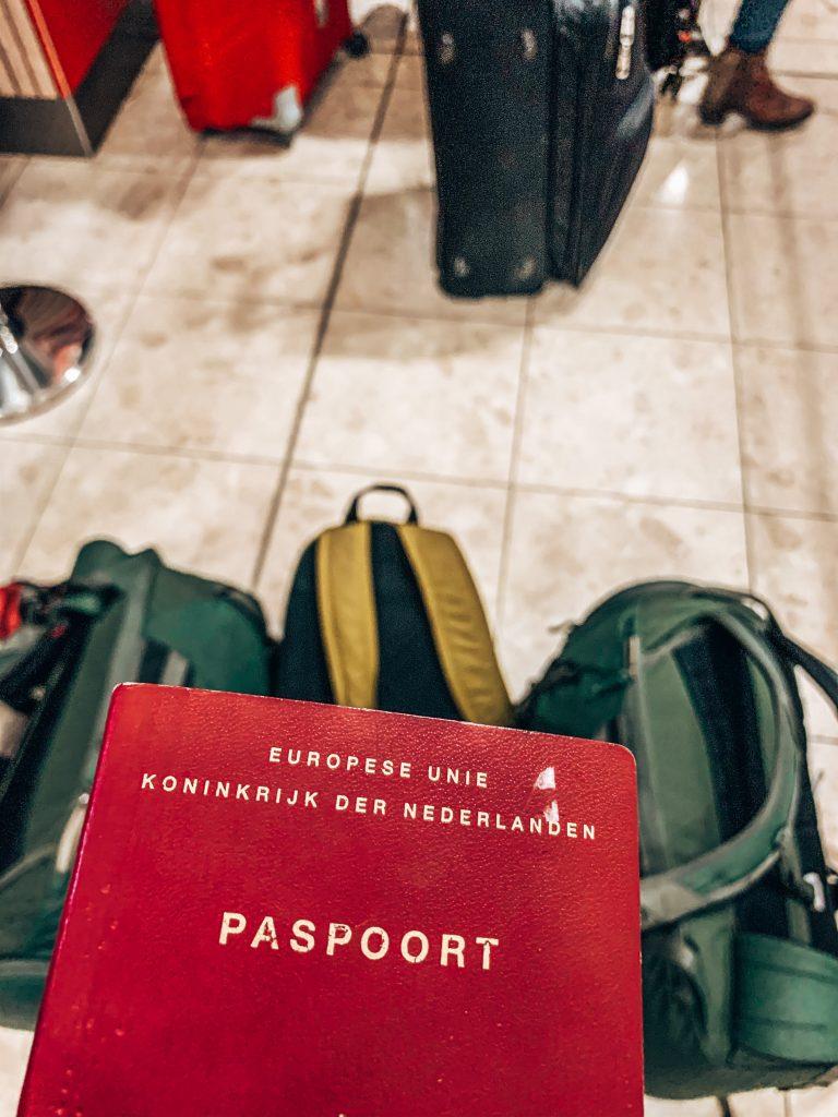 bagage op Christchurch airport
