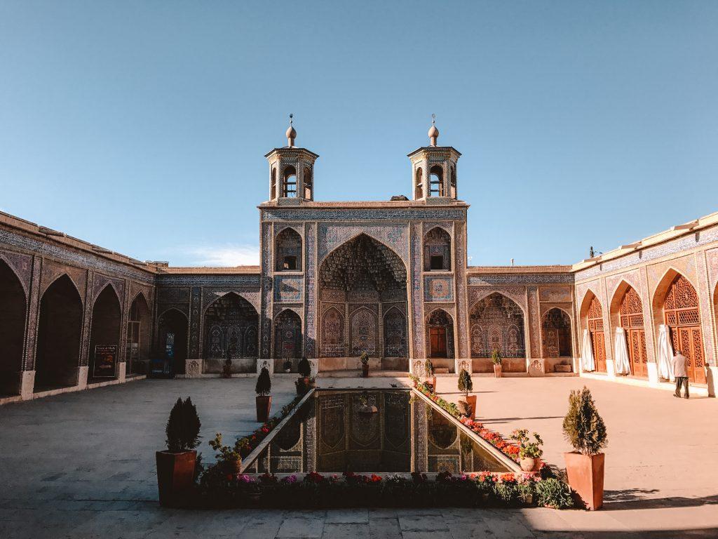 roze moskee Shiraz
