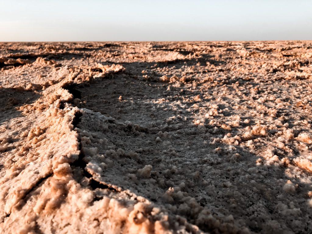 varzaneh woestijn Iran