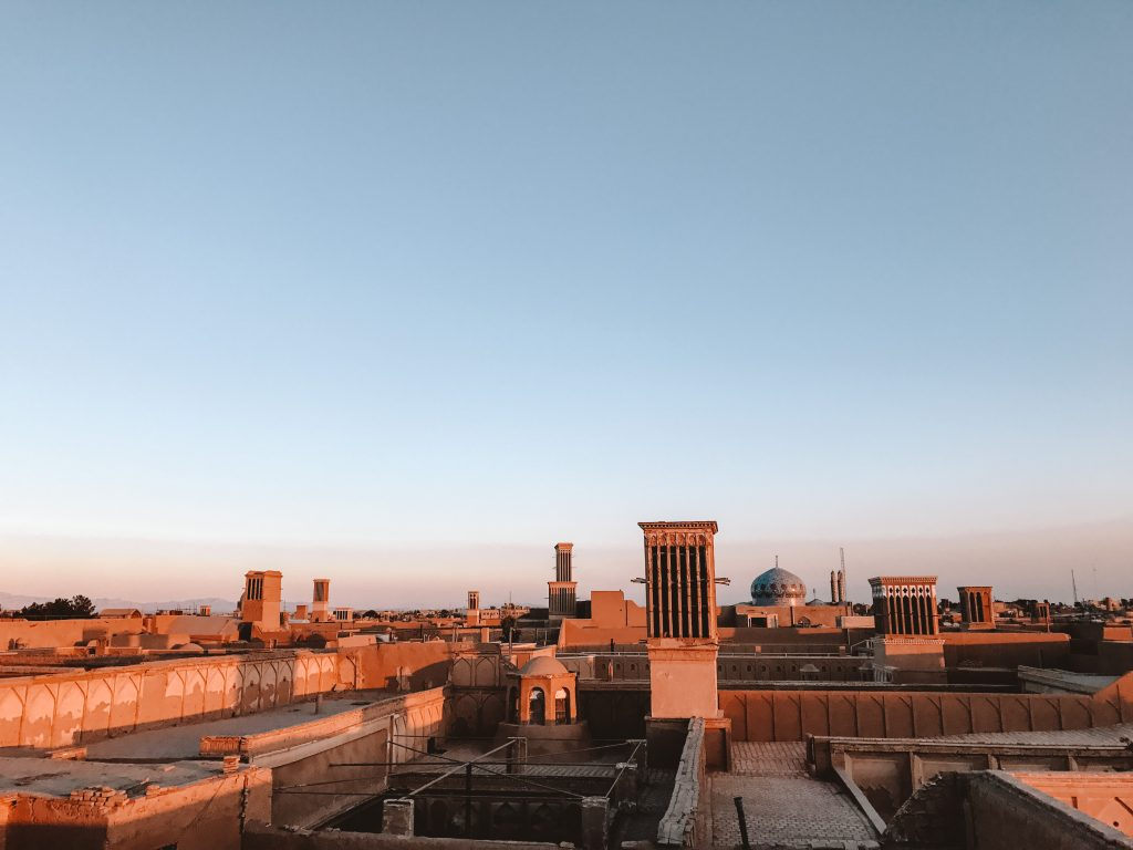 Yazd uitzicht