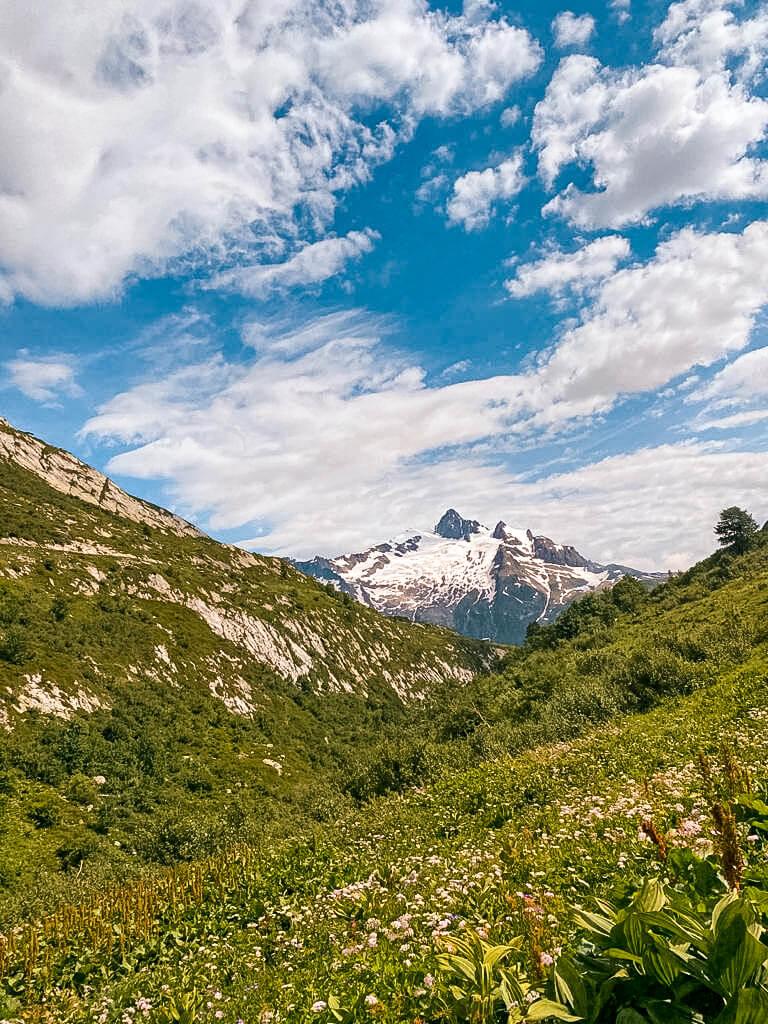 reisverslag camper frankrijk mont blanc